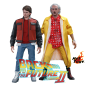 Preview: ZURÜCK IN DIE ZUKUNFT II - MMS Actionfiguren Marty McFly & Dr. Emmet Brown (Hot Toys)
