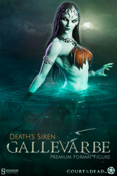 COURT OF THE DEAD - Gallevarbe, Death's Siren Premium Format Statue (Sideshow)