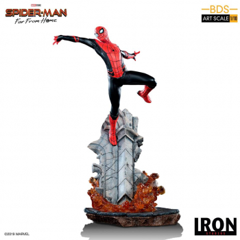 SPIDER-MAN: Far From Home - BDS Art Scale Deluxe Statue 1/10 Spider-Man (Iron Studios)