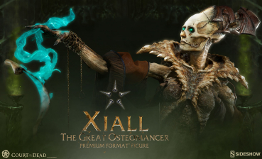 COURT OF THE DEAD - Xiall, the Great Osteomancer Premium Format Statue (Sideshow)