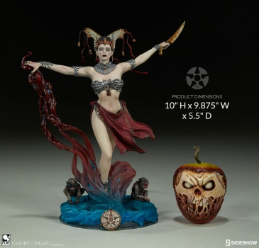 COURT OF THE DEAD: Prestige Statuette Collection - Gethsemoni: Queen's Conjuring (Sideshow)