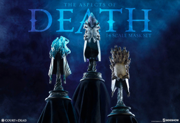 COURT OF THE DEAD - The Aspects of Death Mask Collectible Set (Sideshow)