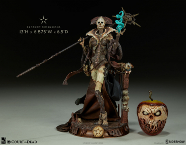 COURT OF THE DEAD: Prestige Statuette Collection - Xiall: Osteomancer's Vision (Sideshow)