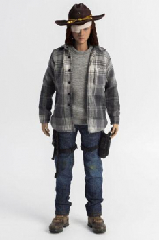 THE WALKING DEAD - Actionfigur 1/6 Carl Grimes (ThreeZero)