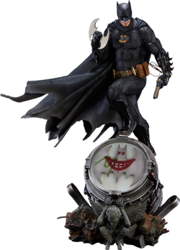 DC COMICS - Batman Prime Scale Statue 1/3 by Ivan Reis (Black Edition) (Iron Studios)