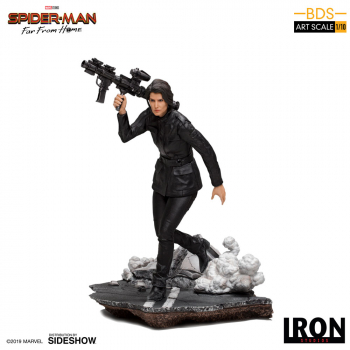 SPIDER-MAN: Far From Home - BDS Art Scale Deluxe Statue 1/10 Maria Hill (Iron Studios)