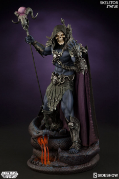 MASTERS OF THE UNIVERSE - Skeletor Statue (Sideshow)