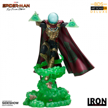SPIDER-MAN: Far From Home - BDS Art Scale Deluxe Statue 1/10 Mysterio (Iron Studios)
