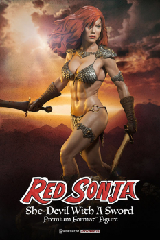 RED SONJA - Premium Format Statue She-Devil with a Sword (Sideshow)