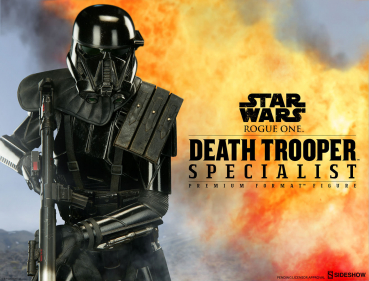 STAR WARS: Rogue One - Death Trooper Specialist Premium Format Statue (Sideshow)
