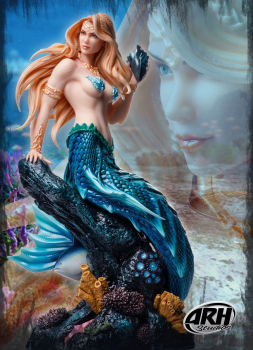 ARH ComiX - Statue 1/4 Sharleze The Mermaid EX Version Human Skin (ARH Studios)
