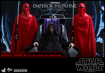 STAR WARS: Episode VI - MMS 1/6 Emperor Palpatine Deluxe Version & 2x Royal Guard (Hot Toys)