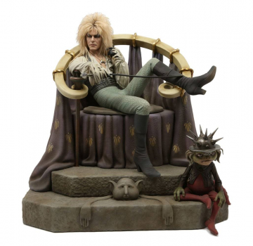 DIE REISE INS LABYRINTH - Statue 1/4 Jareth on Throne (Chronicle Collectibles)