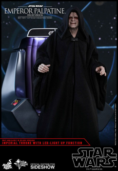 STAR WARS: Episode VI - Movie Masterpiece Actionfigur 1/6 Emperor Palpatine Deluxe Version (Hot Toys)