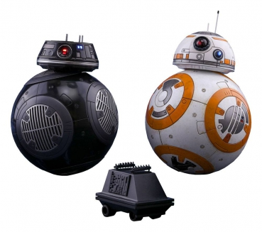 STAR WARS: Episode VIII - Movie Masterpiece Actionfiguren Doppelpack 1/6 BB-8 & BB-9E (Hot Toys)
