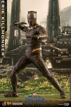 BLACK PANTHER - Movie Masterpiece Actionfigur 1/6 Erik Killmonger (Hot Toys)