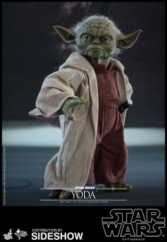 STAR WARS: Episode II - Movie Masterpiece Actionfigur 1/6 Yoda (Hot Toys)