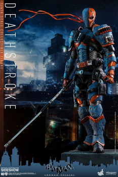 BATMAN ARKHAM ORIGINS - Videogame Masterpiece Actionfigur 1/6 Deathstroke (Hot Toys)