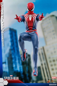 SPIDER-MAN - Videogame Masterpiece Actionfigur 1/6 Spider-Man Advanced Suit (Hot Toys)