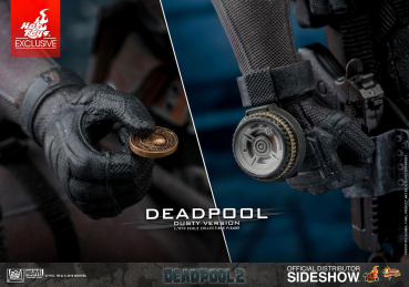 DEADPOOL 2 - Movie Masterpiece Actionfigur Deadpool Dusty Ver. Exclusive (Hot Toys)
