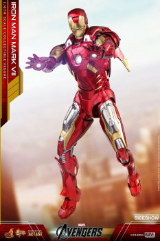 THE AVENGERS - Diecast Movie Masterpiece Actionfigur 1/6 Iron Man Mark VII (Hot Toys)