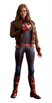 CAPTAIN MARVEL - Movie Masterpiece Actionfigur 1/6 Captain Marvel Deluxe Ver. (Hot Toys)
