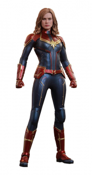 CAPTAIN MARVEL - Movie Masterpiece Actionfigur 1/6 Captain Marvel (Hot Toys)