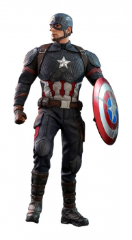 AVENGERS: Endgame - Movie Masterpiece Actionfigur 1/6 Captain America (Hot Toys)