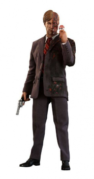 THE DARK KNIGHT - Movie Masterpiece Actionfigur 1/6 Two-Face 2019 Toy Fair Exclusive (Hot Toys)