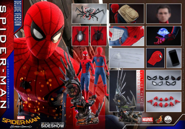 SPIDER-MAN: Homecoming - Quarter Scale Series Actionfigur 1/4 Spider-Man Deluxe Version (Hot Toys)