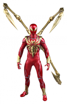 MARVEL`S SPIDER-MAN - Video Game Masterpiece Actionfigur 1/6 Spider-Man (Iron Spider Armor) (Hot Toys)