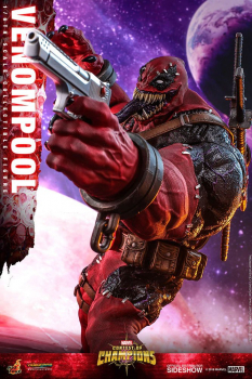 MARVEL: Sturm der Superhelden - Video Game Masterpiece Actionfigur 1/6 Venompool (Hot Toys)
