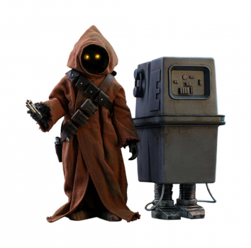 STAR WARS: Episode IV - Movie Masterpiece Actionfiguren Doppelpack 1/6 Jawa & EG-6 Power Droid (Hot Toys)