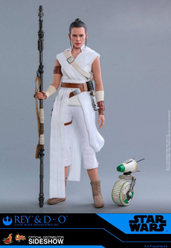 STAR WARS: Episode IX - Movie Masterpiece Actionfiguren Doppelpack 1/6 Rey & D-O (Hot Toys)