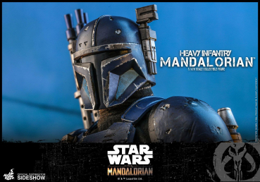 STAR WARS: The Mandalorian - Actionfigur 1/6 Heavy Infantry Mandalorian (Hot Toys)
