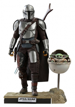 STAR WARS: The Mandalorian - Actionfiguren Doppelpack 1/6 The Mandalorian & The Child Deluxe (Hot Toys)