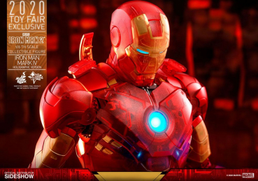 IRON MAN 2 - Actionfigur 1/6 Iron Man Mark IV (Holographic Version) 2020 Toy Fair Exclusive (Hot Toys)