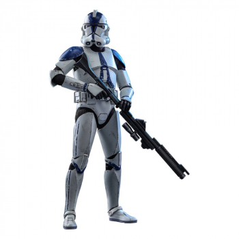 STAR WARS: The Clone Wars - Actionfigur 1/6 501st Battalion Clone Trooper (Hot Toys)