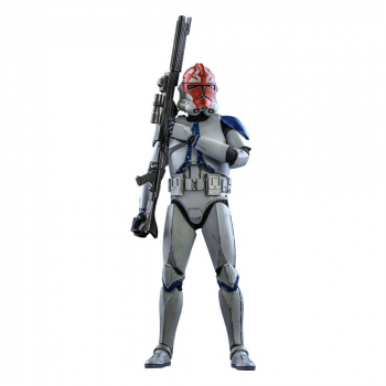 STAR WARS: The Clone Wars - Actionfigur 1/6 501st Battalion Clone Trooper (Deluxe) (Hot Toys)