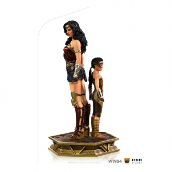 WONDER WOMAN 1984 - Deluxe Art Scale Statue 1/10 Wonder Woman & Young Diana (Iron Studios)