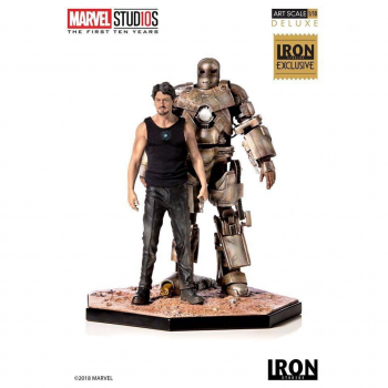 MARVEL COMICS - Statue 1/10 Iron Man Mark I CCXP 2019 Exclusive (Iron Studios)