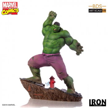 MARVEL COMICS - BDS Art Scale Statue 1/10 Hulk (Iron Studios)