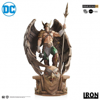 DC COMICS - Prime Scale Statue 1/3 Hawkman Closed Wings Ver. (Iron Studios)
