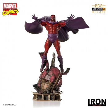MARVEL COMICS - BDS Art Scale Statue 1/10 Magneto (Iron Studios)