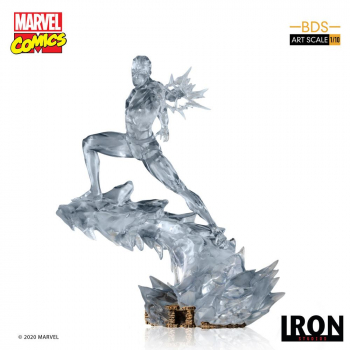 MARVEL COMICS - BDS Art Scale Statue 1/10 Iceman (Iron Studios)