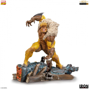 MARVEL COMICS - BDS Art Scale Statue 1/10 Sabretooth (Iron Studios)