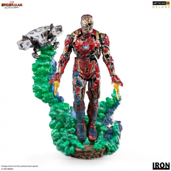 SPIDER-MAN: Far From Home - BDS Art Scale Deluxe Statue 1/10 Iron Man Illusion (Iron Studios)