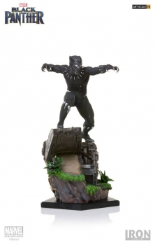 BLACK PANTHER - Battle Diorama Series Statue 1/10 Black Panther (Iron Studios)