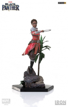 BLACK PANTHER - Battle Diorama Series Statue 1/10 Nakia (Iron Studios)