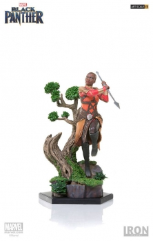 BLACK PANTHER - Battle Diorama Series Statue 1/10 Okoye (Iron Studios)